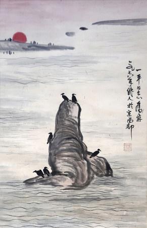 吳作人 雀鳥