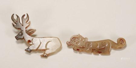 Western Zhou - Set of Jade Pendants