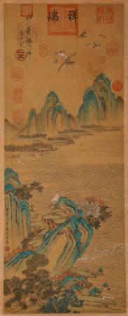Song Dynasty - Yi Yuanji Painting