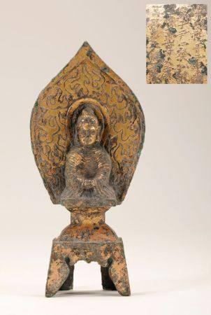 Northern Wei -  Gilt Buddha Statue