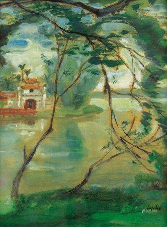 Le Pho 黎譜 | Ngoc Son Temple in Hanoi 河內的寺廟