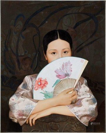 Wang Yidong 王沂東 | Spring Fan 春扇