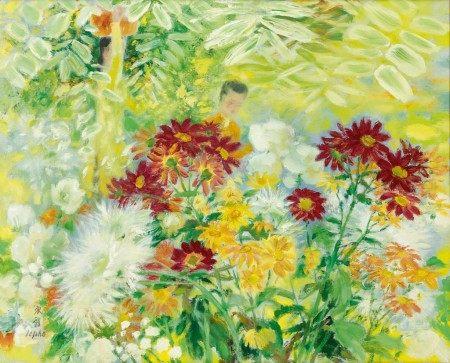 Le Pho 黎譜 | Dans Le Jardin Fleuri (In the Flower Garden) 花圃中