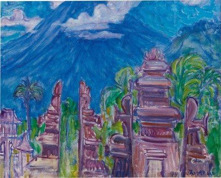 Theo Meier 西奧·邁爾 | View of a Temple 寺廟風景