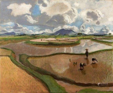 Joseph Inguimberty 約瑟夫·恩桂波提 | Padi Fields 稻田