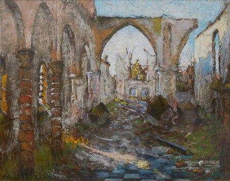 Adrien Jean Le Mayeur de Merprès 勒邁耶 | Ancient Ruins 遺址