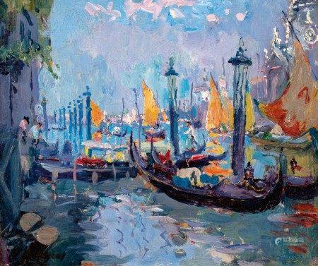 Adrien Jean Le Mayeur de Merprès 勒邁耶 | Venice 威尼斯