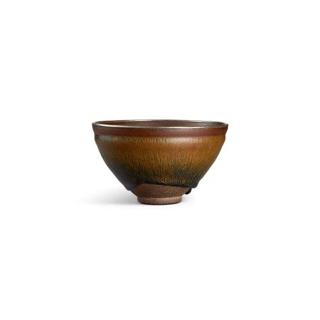 A 'Nogime Temmoku' tea bowl Southern Song dynasty | 南宋 建窰禾目天目茶盞