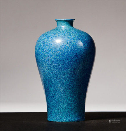 Qing Guangxu Furnace Jun Glaze Bottle