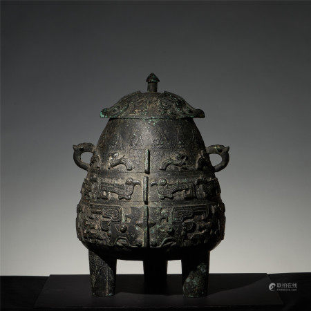 The Song Dynasty imitated the bronze tripod of the Shang Dynasty