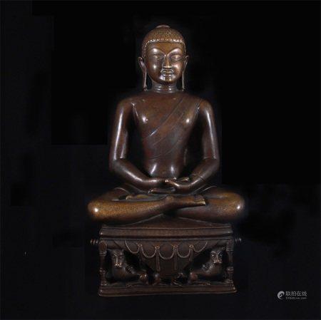 明 释迦牟尼佛造像