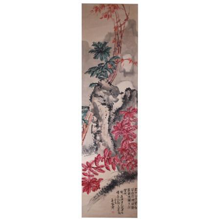 吴昌硕  花卉  纸本立轴
