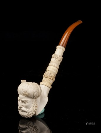 BEESWAX MOUTH SEPIOLITE PIPE