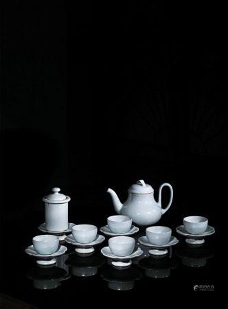 曉芳窯汝窯陸羽茶具17件式套組