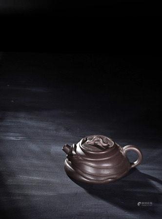 現代 徐漢棠 紫砂仿古壺