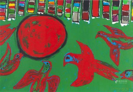 CORNEILLE (GUILLAUME BEVERLOO DIT) (1922-2010)