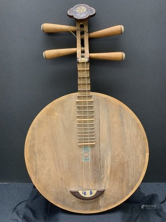 Chinese wooden instrument