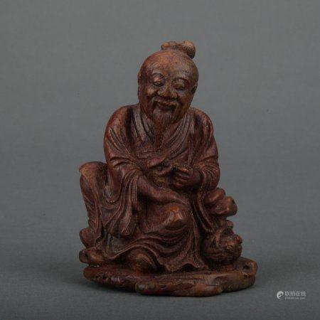 A bamboo figure