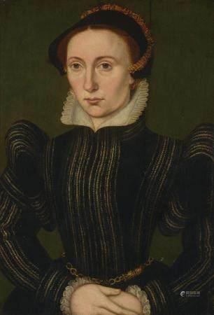 CORNEILLE DE LYON (1500 - 1575) ATTRIBUÉ À Dame
