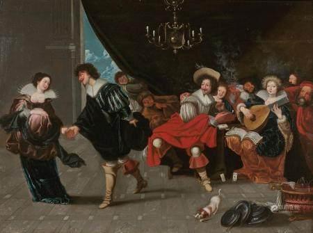 SIMON DE VOS (1603 - 1676) ATTRIBUÉ À
