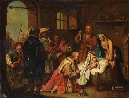 JOHANN KONRAD SEEKATZ (1719-1768) ATTRIBUÉ À