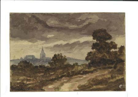 CHARLES FRANÇOIS DAUBIGNY (1817-1878)