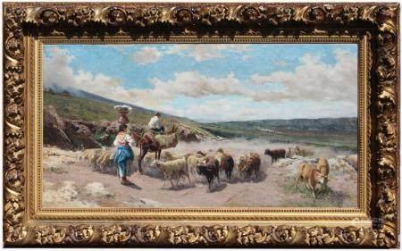 Aurelio Tiratelli (Italy, 1842 - 1900)