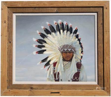 "Lunda Hoyle Gill (1928 - 2003) ""Crow Indian"""