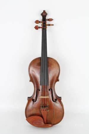Antique Violin, Carlo Landolfi Label
