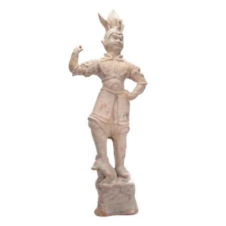 Scultura cinese in terracotta