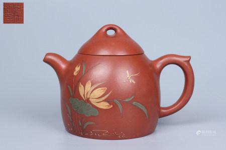 Chinese Zisha Pot - Gu Jingzhou