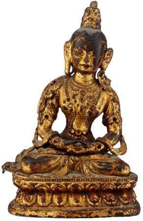 Kleine buddhistische Figur
