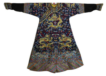 Chinese Imperial Dragon Robe Qianlong Style