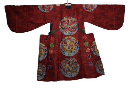 Chinese Imperial Dragon Robe Yongle Style
