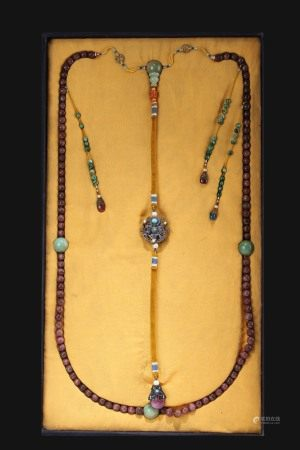 Imperial Tourmaline Rosary