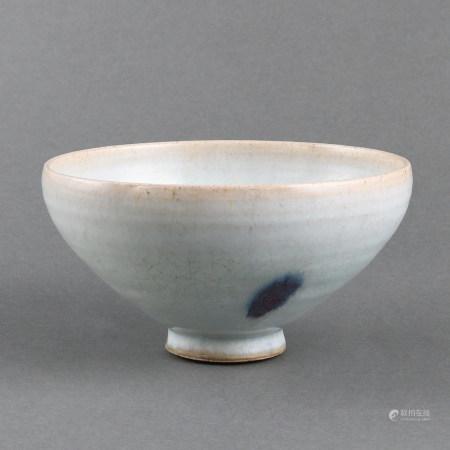 A LARGE MOON-WHITE'JUN' BOWL