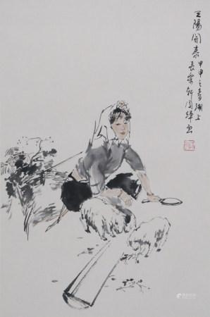 劉國輝 仕女
