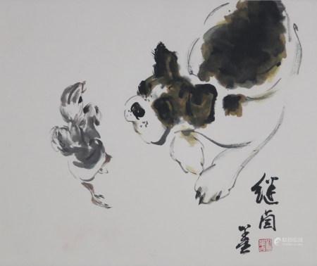 劉繼卣 犬