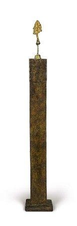Alberto Giacometti 阿爾伯托・賈柯梅蒂   Petit buste sur colonne 立柱上的半身小像