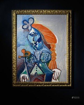 Pablo Picasso 巴布羅・畢加索   Buste de matador 鬥牛士
