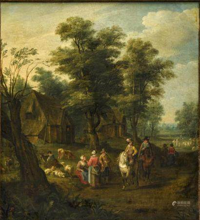 ATTRIBUTED TO JOZEF VAN BREDAEL (1688-1739)