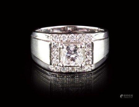 珠寶 天然 1.00 克拉GIA頂級白鑽戒
