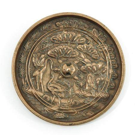 A Bronze Chinese Mirror