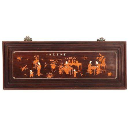 A Carved Wall Hanging