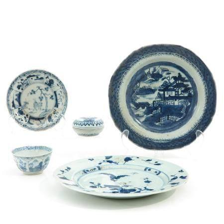A Collection of Ship Wreck Porcelain