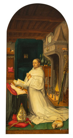 A fine copy after the master of 1499, attributed to Gilleman, ca 1900, 16 x 32,2 cm