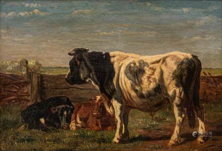 Johannes Hermanus Leonardus De Haas (1832-1908), 41 x 58 cm