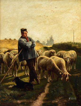 Henri De Beul (1845-1900), 33 x 42 cm