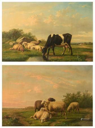 Louis-Pierre Verwee (1807-1877), 51,5 x 76,5 cm