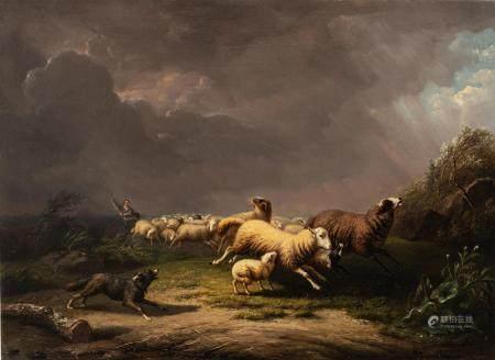 Frans Van Severdonck (1809-1889), 62 x 84 cm